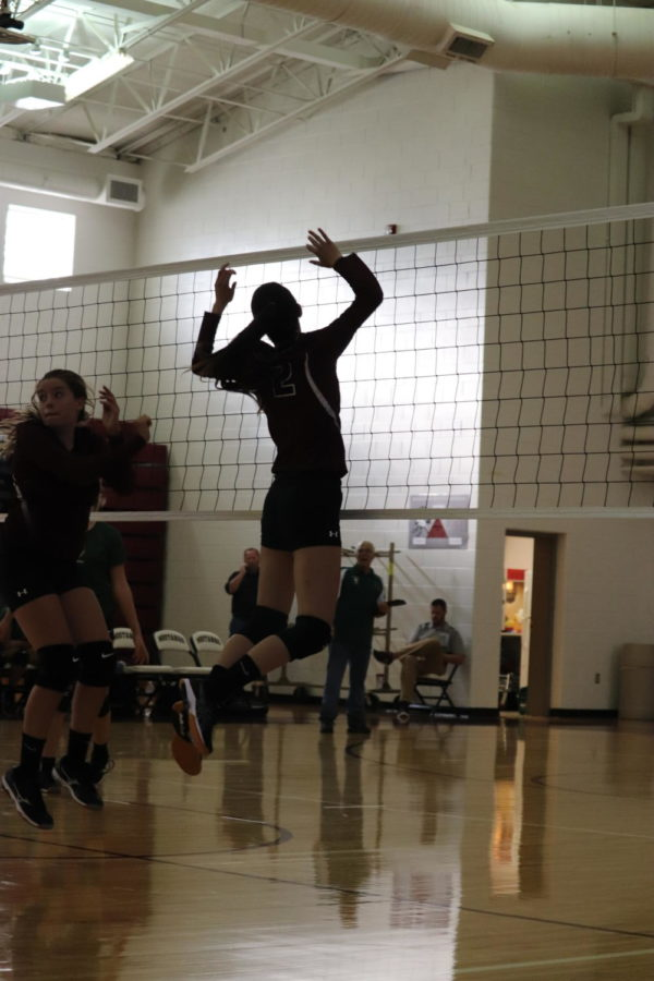 JV Volleyball Game Vs. Roanoke Catholic
