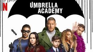 The main characters for the Nextflix show The Umbrella Academy.